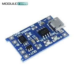 10 pcs Micro USB 5 V 1A 18650 TP4056 Batterie Au Lithium Chargeur Module De Charge Conseil Avec Protection Double Fonctions