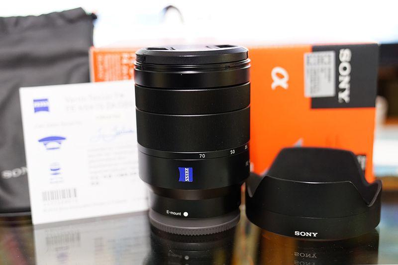 Neue Sony Vario Vario-tessar-optik T * FE 24-70mm f/4 ZA Oss-objektiv SEL2470Z Für A7 II A7R II A7S II