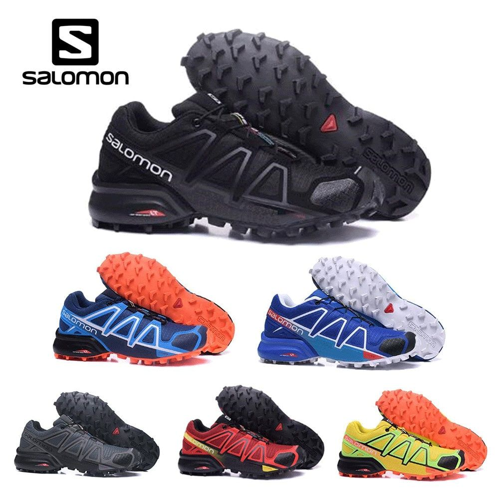 Salomon Speed Cross 4 CS cross-country running shoes Brand Sneakers Male Athletic Sport Shoes SPEEDCROS outdoor shoes