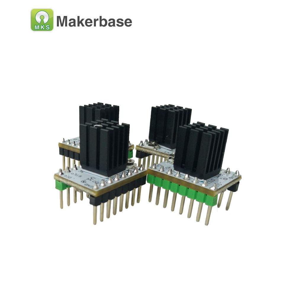 5pcs 3D printer parts StepStick MKS TMC2208 stepper driver ultra-silent stepping controller tube built-in driver current 1.4A