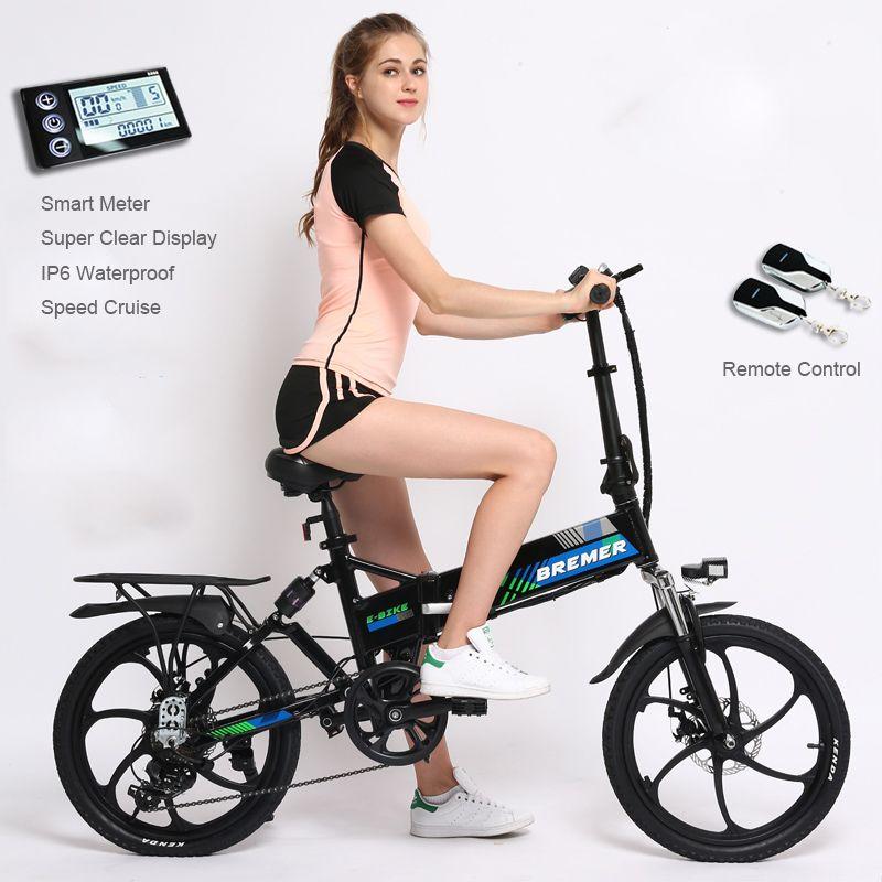 20 zoll klapp elektrische fahrrad lithium-batterie fahrrad mini erwachsenen Versteckte batterie ebike männer und frauen 500 watt elektrische fahrrad