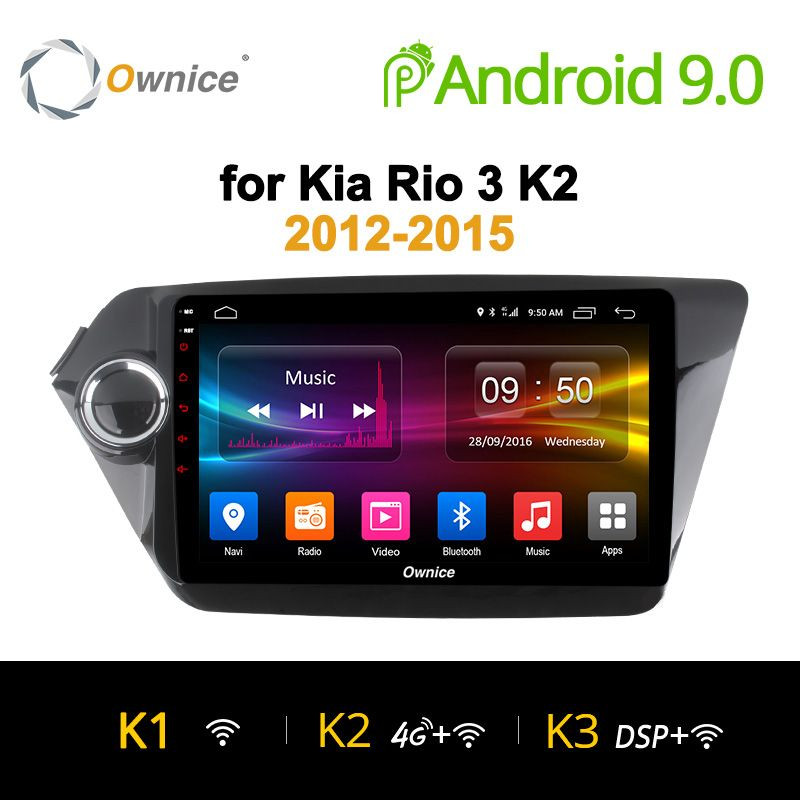 Ownice K1 K2 K3 Android 9.0 Octa 8 Core auto-radio-player GPS navi für Kia k2 RIO 2012 2013 2014 2015 2017 2G RAM Unterstützung 4G LTE