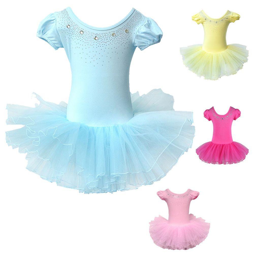 2017 Chicas Lindas Vestido de Ballet Para Niños Ropa Niños Trajes de Ballet Danza de La Muchacha Para Las Niñas de Danza Leotardo ropa de Baile Chica