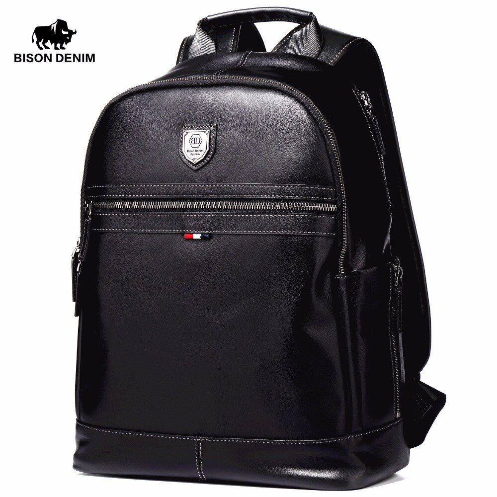 BISON DENIM Fashion Business Backpack 15.6