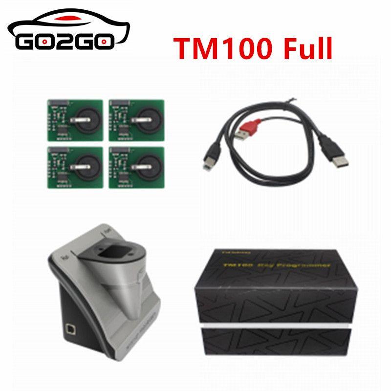 Heißer Verkauf 100% Original TM100 Volle version Automobil Schlüssel Programmierer Umfasst 62 Module