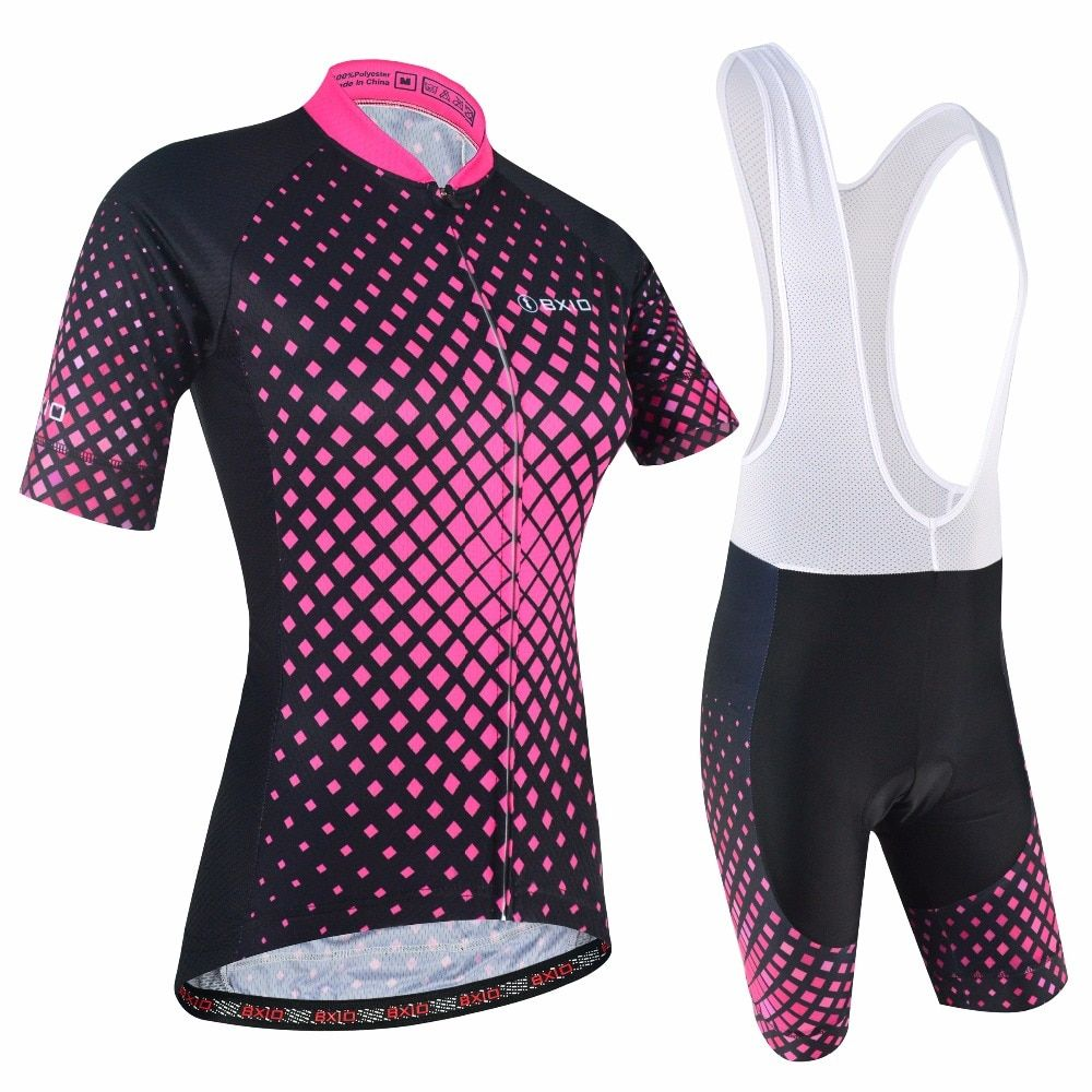BXIO Women Cycling Clothing Gel Pad Locking With Double Lycra For Cuffs Breathable Material For Two Sides Of Cycling Jerseys 177