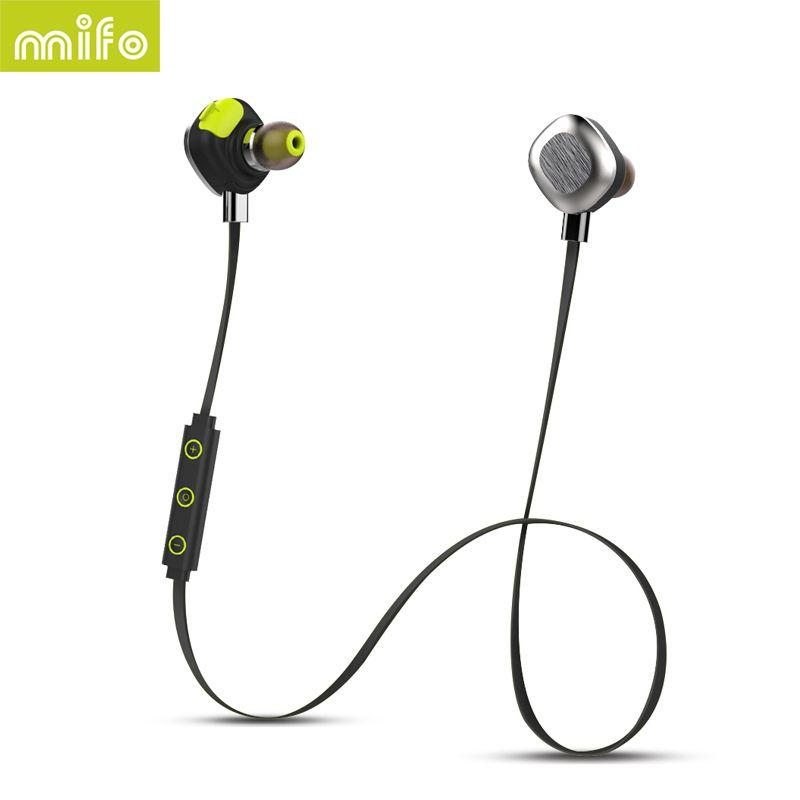 NFC Magnetic Wireless Headset Workout Sport Bluetooth Headphone Stereo Waterproof Noise Canceling Earphone mifo U5 PLUS