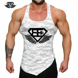 Fitness Men Tank Top Army Camo Camouflage Mens Bodybuilding Stringers Tank Tops Singlet Brand Clothing Sleeveless Shirt