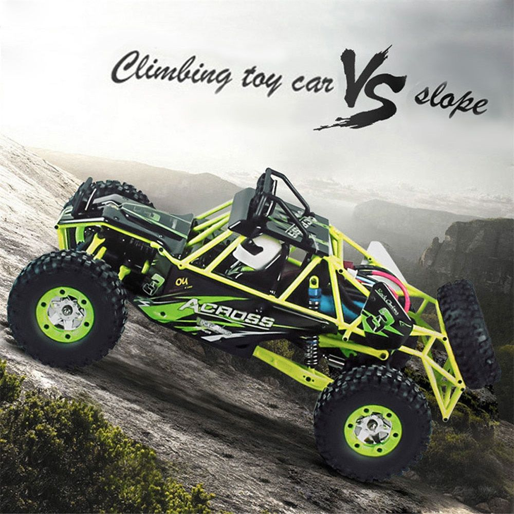 RC Car WLtoys 12428 4WD 1/12 2.4G 50km/h High Speed Monster Truck Radio Control RC Buggy Off-Road RTR Updated Version