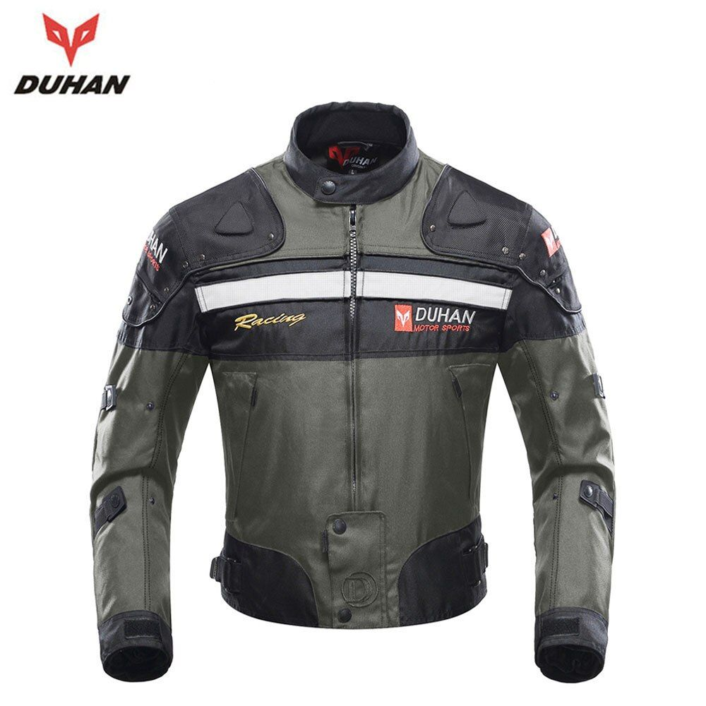 DUHAN Men Motocross Off-Road Enduro Racing Jacket Motorcycle Riding Jackets Moto Jacket Windproof Jaqueta Motoqueiro Clothing