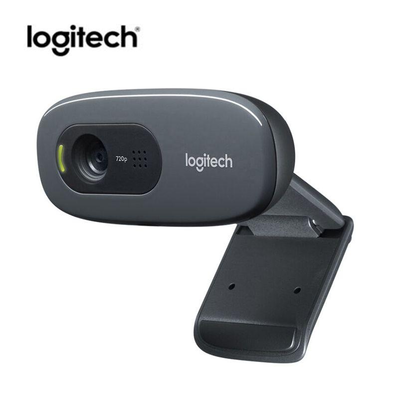 Logitech C270 Mini Webcam 720 P Kamera USB Webcam 3 Mega HD Video Web-kamera