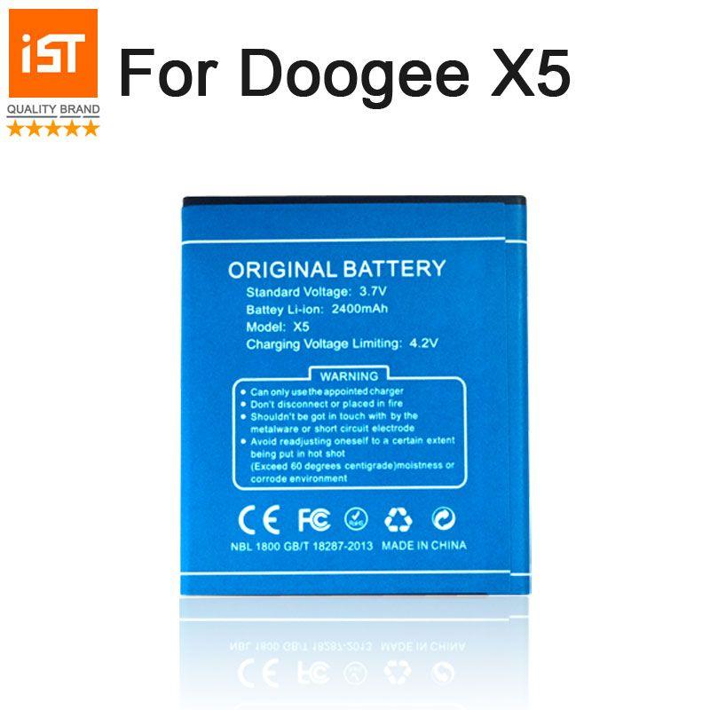 2019 nouveau 100% IST batterie de téléphone Mobile d'origine pour Doogee X5 X5S X5 Pro batterie de remplacement de haute qualité avec cadeau