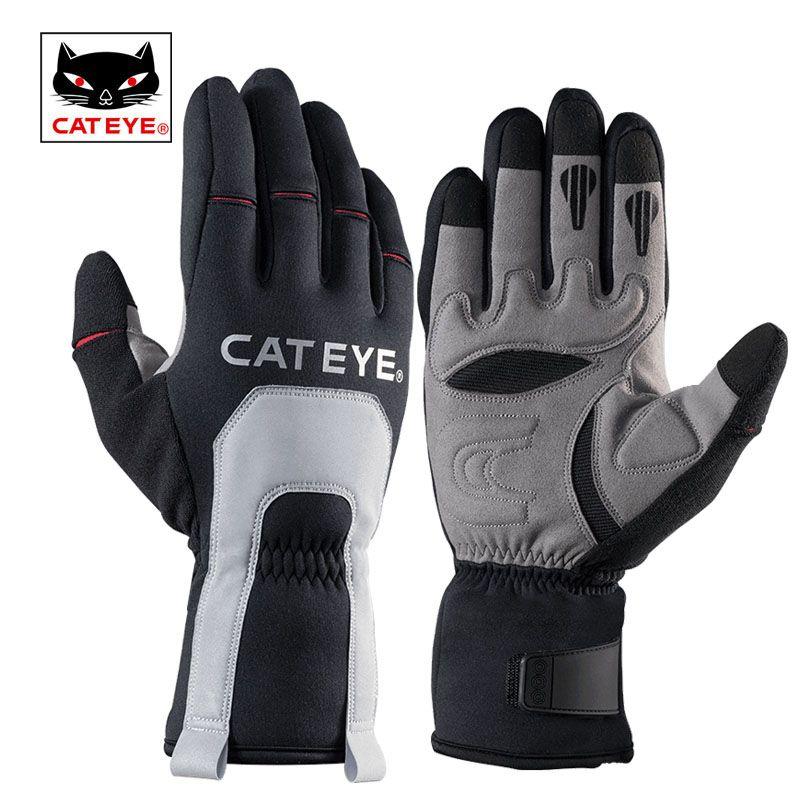 CATEYE männer Ski Winter Thermische Handschuhe-30 Grad Volle Finger Windproof Ski Motorrad Snowboard Outdoor-sportarten Ski Handschuhe