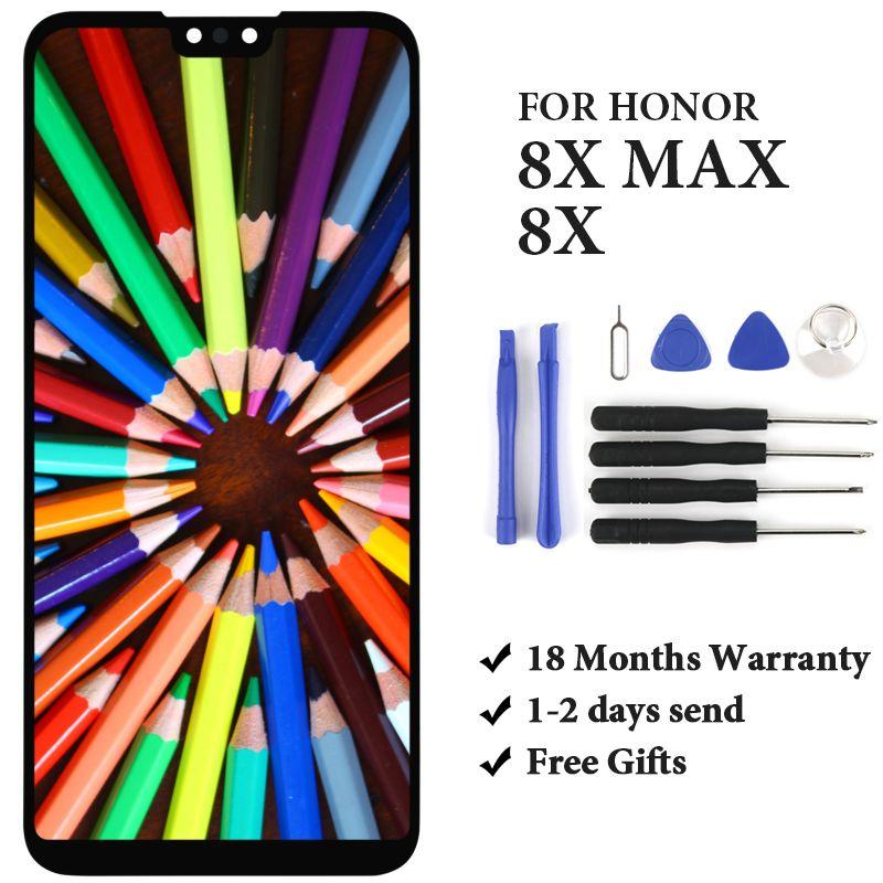 Grade pour Huawei Honor 8X LCD affichage JSN-AL00 JSN-L2 avec écran tactile assemblage remplacement pour Huawei Honor 8X 8X MAX LCD