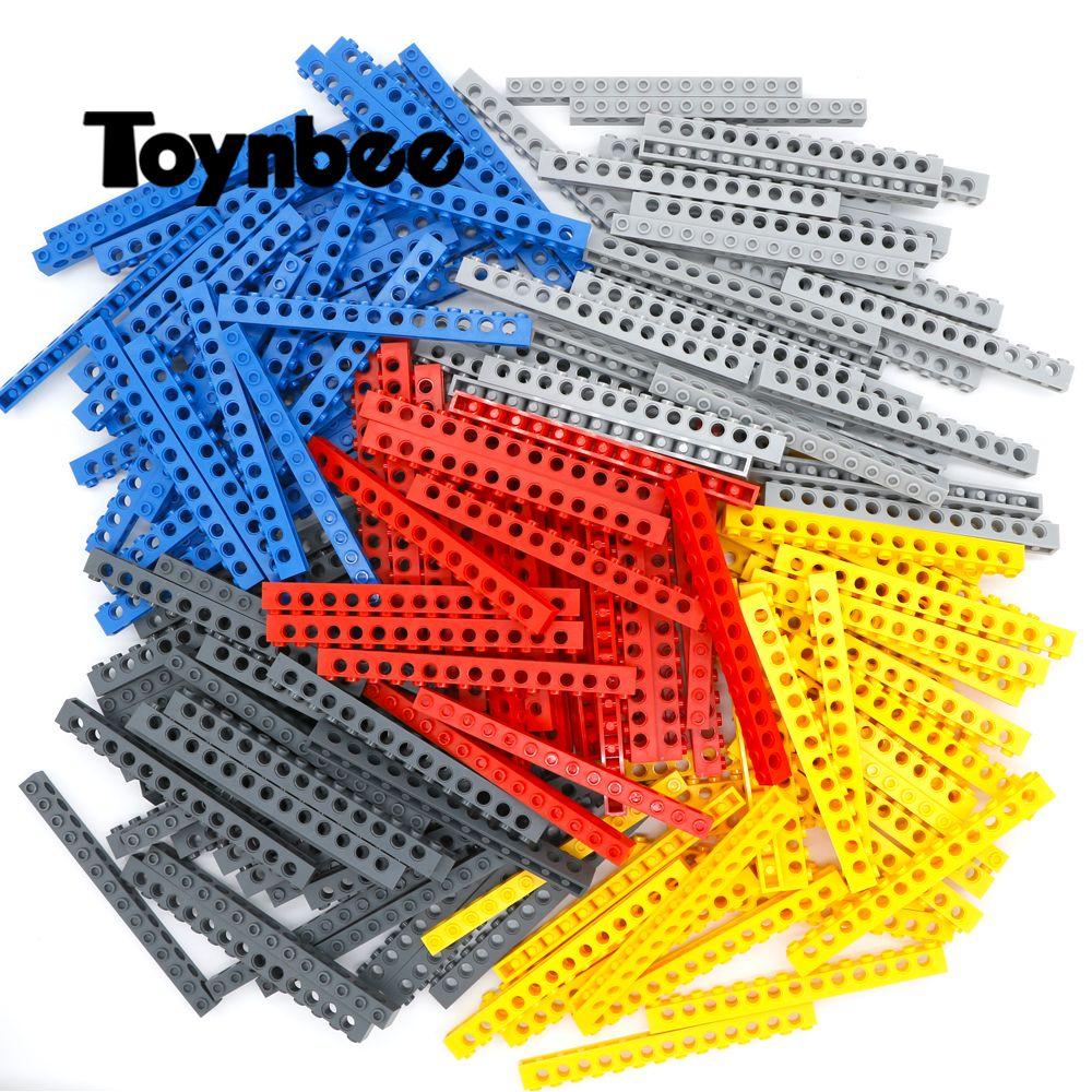 Bricks Technic Parts Thick 1x14 Building Blocks 13 Pin Hole MOC Long Beam Parts Accessory Toy Compatible LegoINGlys Technic Bulk