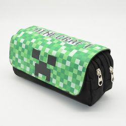 Minecraft crayon cas licorne kalem kutusu Kawai trousse scolaire stylo Mignon animal estuche lapices grande papeterie crayon boîte