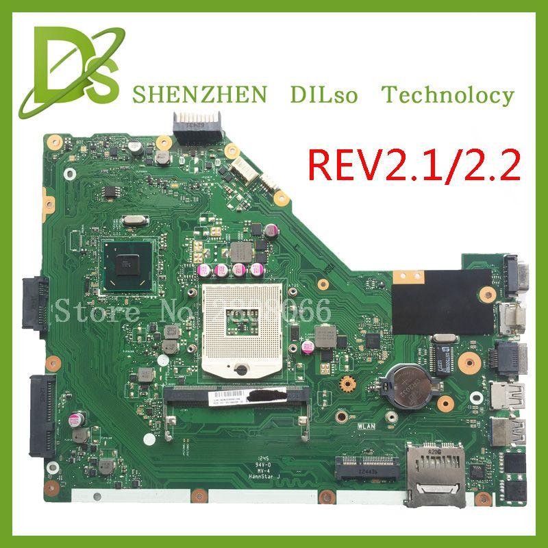 KEFU X55A Pour ASUS X55A Ordinateur Portable carte mère ASUS X55A carte mère SJTNV REV 2.2/REV2.1 Intégré 100% testé nouvelle carte mère