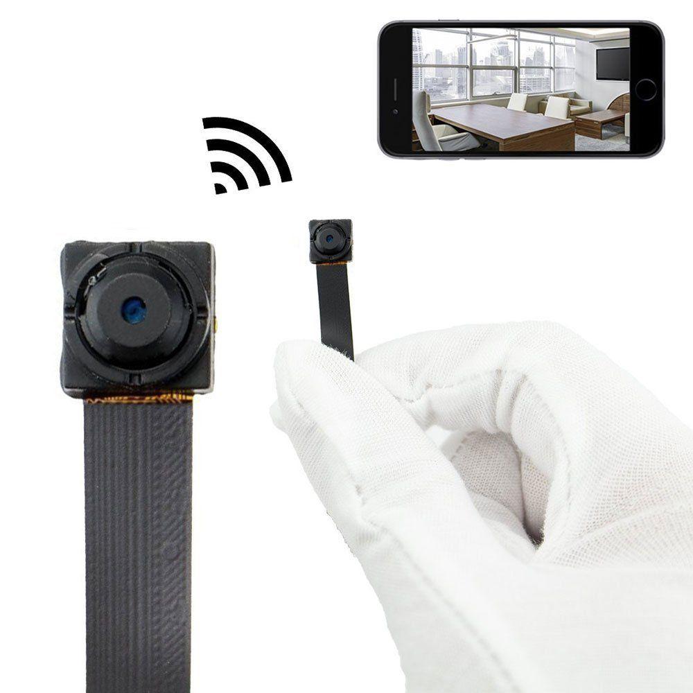 HD 1080P WIFI Network Camera P2P Mini Camera DIY Wireless Camera Module Motion Activated DV Camcorder with 4000mA