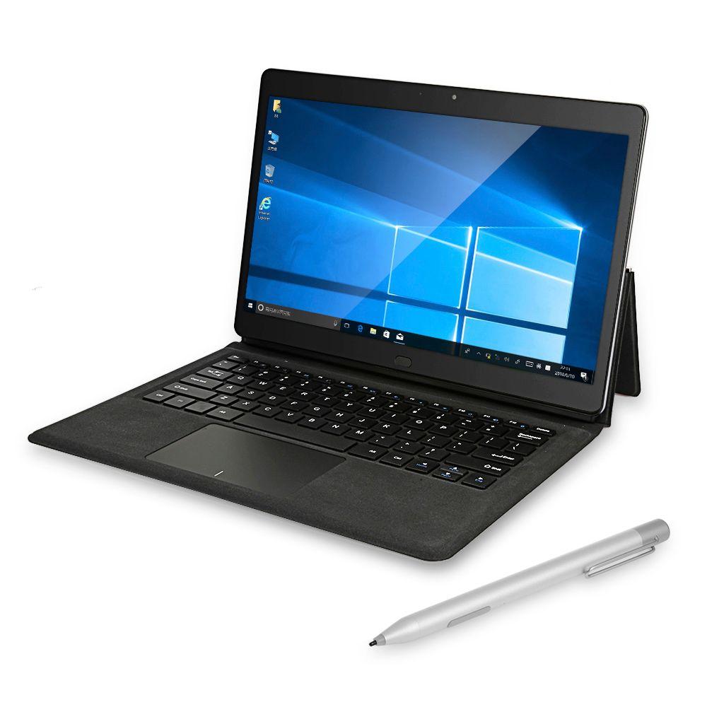 Chuwi CoreBook 2 in 1 Tablet PC mit Tastatur und Stylus Stift 13,3 zoll Windows 10 8 gb 128 gb Dual wiFi Doppel Kameras Typ-C