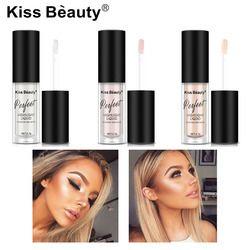 2018 nuevo iluminador Contouring maquillaje Highlighter Face Brightener Concealer Liquid Primer bronceador cara resplandor Kit cosméticos
