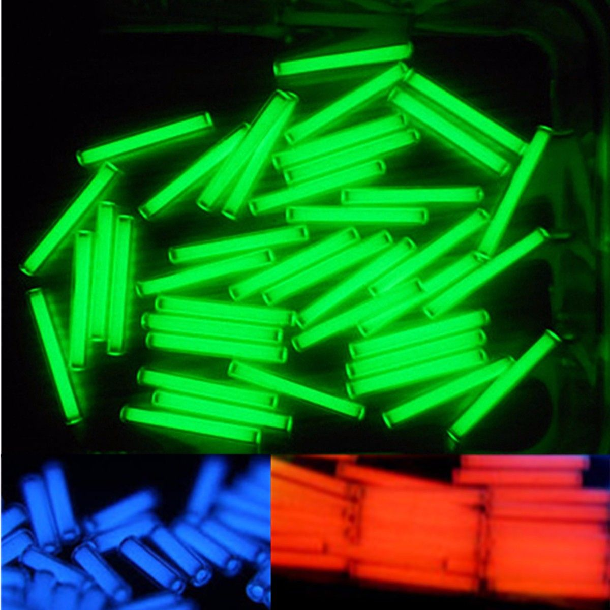 High Quality 1pcs Trit Vials Tritium Multicolor Self-luminous 15-Years 3x22.5mm Outdoor Night Ridding Bicycle Accessories New