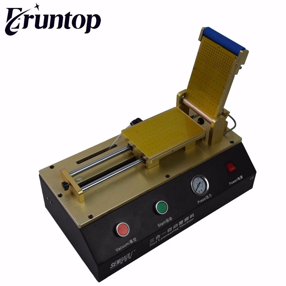 3 in 1 Built-in Vacuum Pump Automatic OCA Film Laminating Machine Universal Machine for Mobile Phone LCD Repair