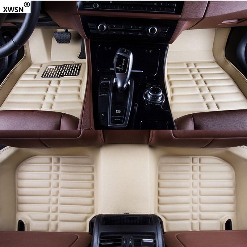 XWSN Custom car fußmatten für Honda jazz accord 2003-2017 für honda civic 2006-2017 fit city honda crv2003-2017 zubehör