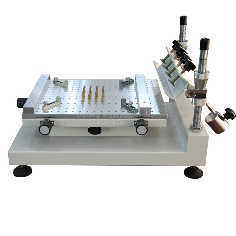 Solder paste printer manual high precision silkscreen printer red glue printing machine ZB3040H