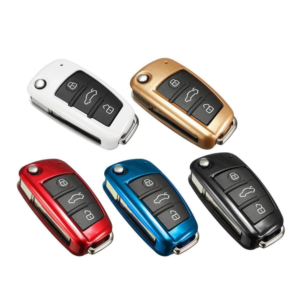 Multicolor Plástico ABS Protección Caso de Cáscara Dominante Alejada Del Coche Para Audi A1 TT A4L A5 A6 A7 A8 Q3 Q5 Q7 Q7 S5 S6 S7 S8 Nueva