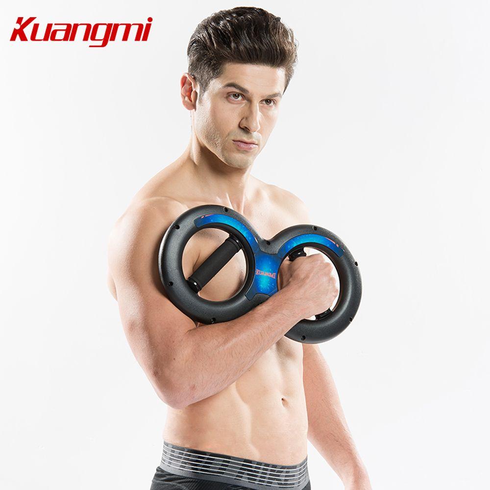 Kuangmi livraison gratuite Powerball 5 kg-20 kg 8 Forme Poignets Électriques Puissance De Bras Poignet Force Avant-Bras exerciseur avec Ressorts