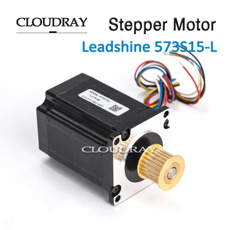 Cloudray Nema 23 Stepper Motor Paso A Paso 3 Phase Step Motor Stepping Hybrid 24 Teeth 3M Timing Pulley For CO2 Laser Engraving