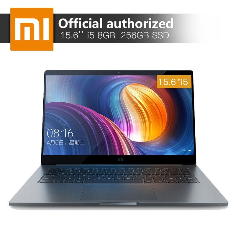 Xiaomi Notebook Pro 15,6 ''8 gb RAM 256 SSD Intel Core i5-8250U Quad Core Computer MX150 2 gb GDDR5 fingerprint Anerkennung Laptop