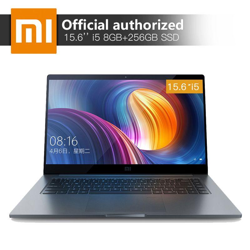 Xiaomi Notebook Pro 15.6'' 8GB RAM 256 SSD Intel Core i5-8250U Quad Core Computer MX150 2GB GDDR5 Fingerprint Recognition Laptop
