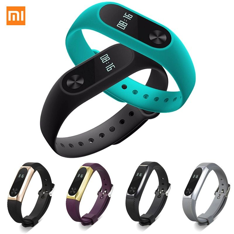 Xiaomi Mi Band 2 Fit Replacement Smart MI Band 2 Touchpad Screen Heart Rate Monitor Pedometer Wristband IP67 FitnessTracker