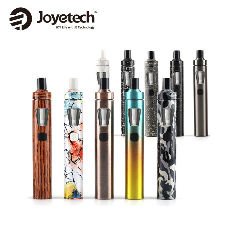 100% Original Joyetech eGo AIO Kit rapide 1500 mAh batterie 2 ml capacité tout-en-un Kit Cigarette électronique vaporisateur Vape stylo