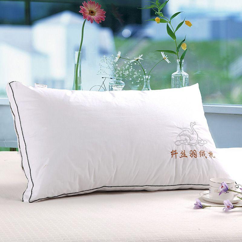 Coussins/oreiller léger/oreiller à mémoire de forme zéro pression santé du cou/coussin/peut être lavé oreiller en velours plume