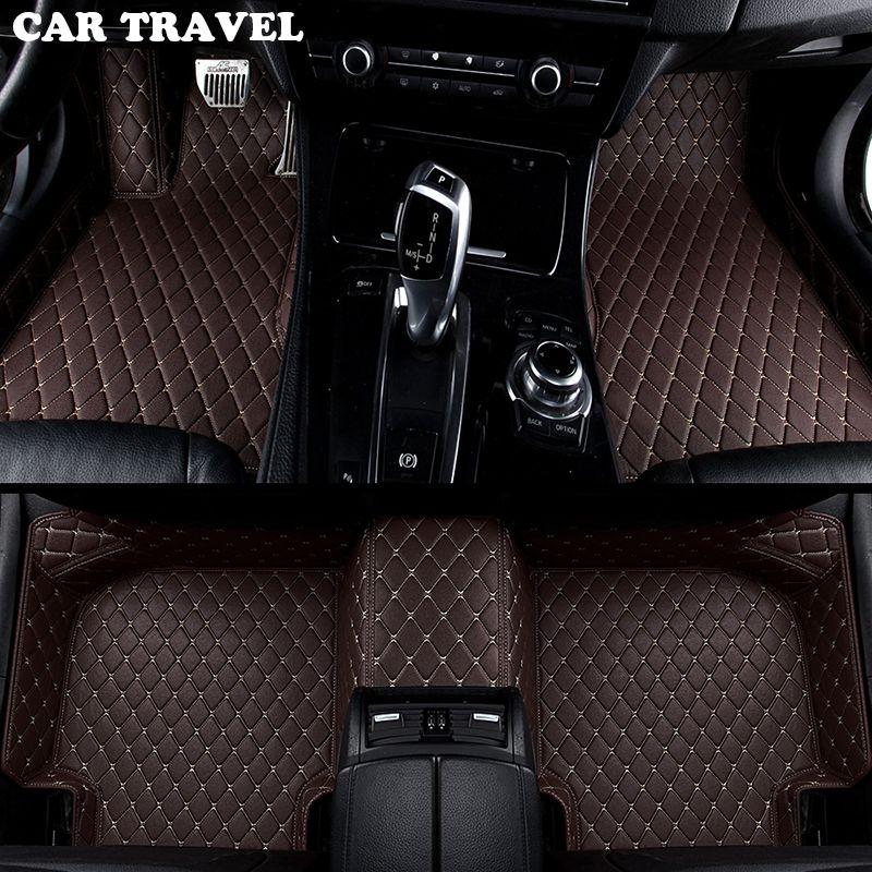 car floor mats for Ford escort fiesta mondeo Focus Fiesta Edge Explorer Taurus S-MAX F150 Everest mustang Custom accessorie foot
