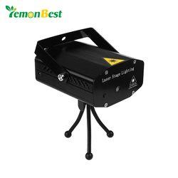 Mini LED Projecteur Laser De Noël Décorations pour la maison Pointeur Laser Disco Party Stage de Lumière Motif Éclairage Projecteur De Douche
