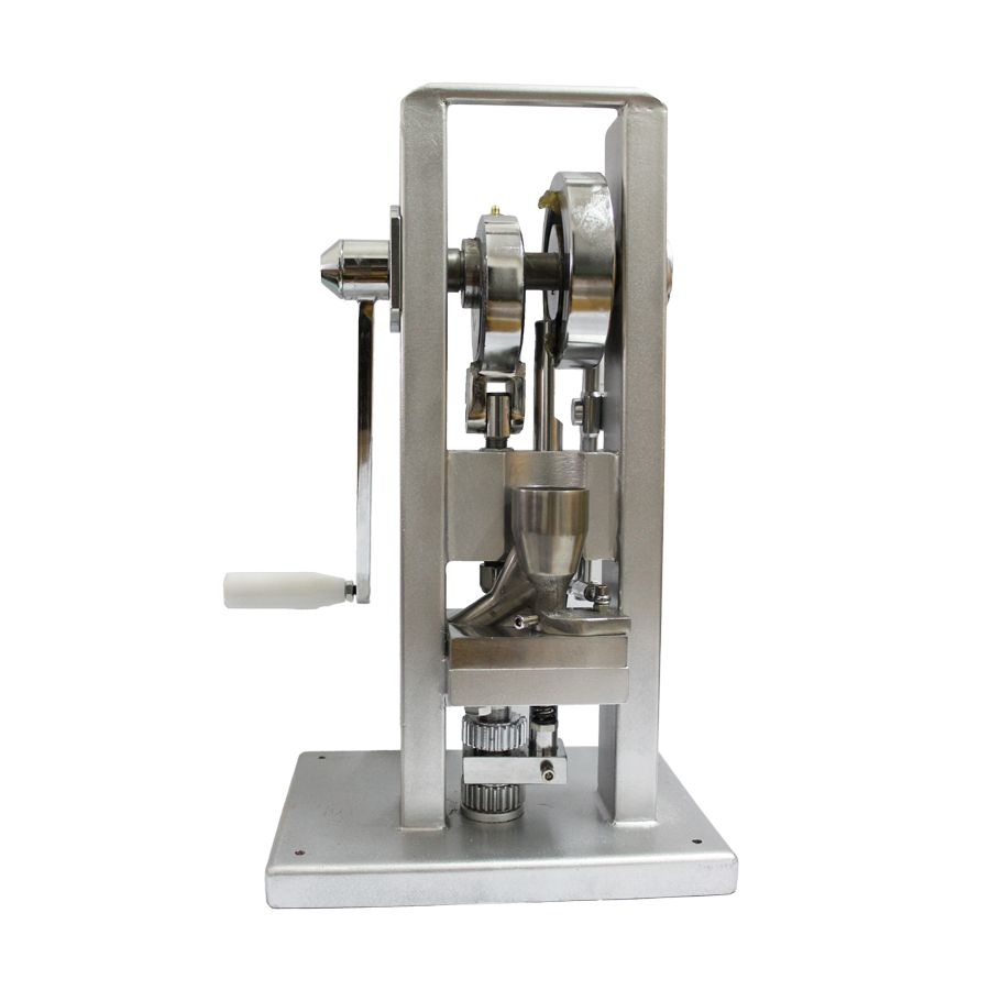Free shipping TDP-0 High Quality Manual Single Punch Tablet Press Pill Making Machine Maker hand-operated mini type