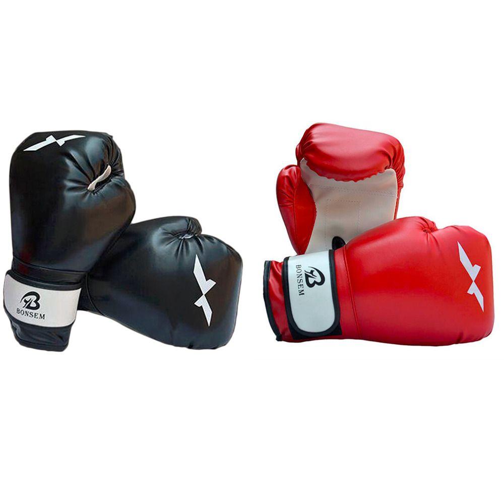 1 Para Training Boxhandschuhe Neue Stil Boxing Mitts Sanda Taekwondo Karate Kampf Handschutz Handschuhe