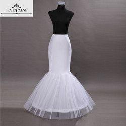 Panas Dijual Murah Mermaid Wedding Petticoat Bridal Aksesoris Memetiknya Crinoline Rok Dalam untuk Pernikahan Gaun Jupon