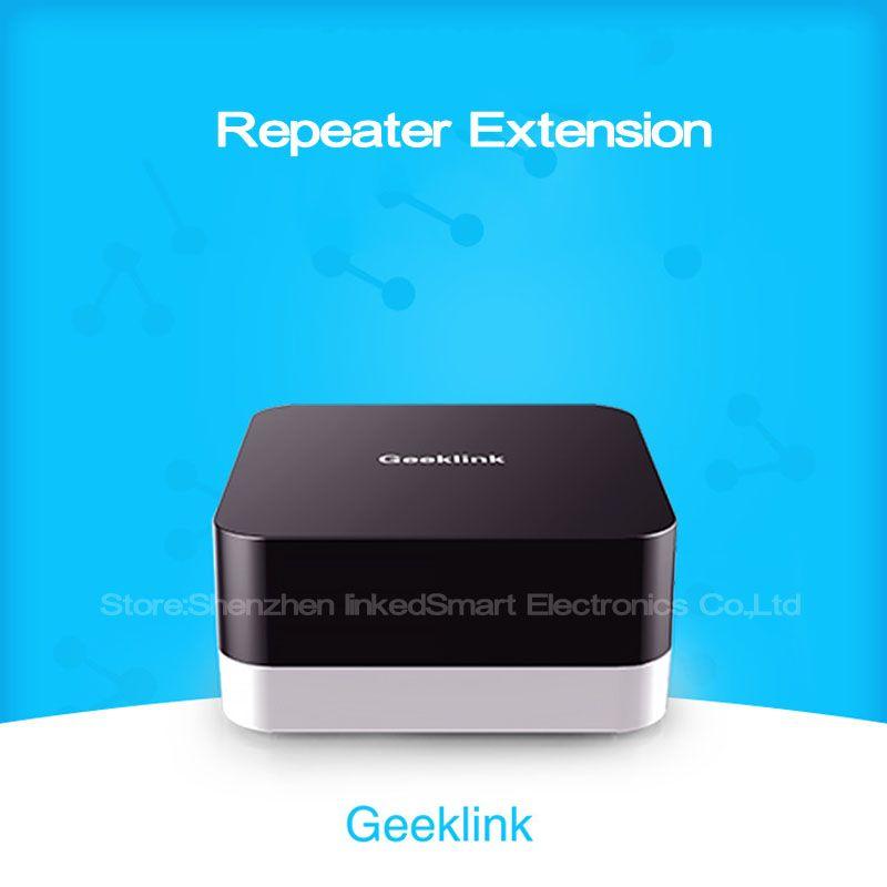 Extension de capteur Geeklink, contrôleur Intelligent de maison intelligente, Compatible avec le penseur, télécommande par commutateur IOS android IR + RF