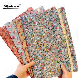 1 Pcs A4 Cotton Fabric Paper Holder Portafolio School Folder Bag Korean Stationery Office Supplies