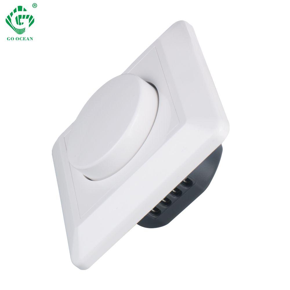 400 W Triac gradateur 230 V 240VAC variateur LED lumières interrupteur Dimmable réglable luminosité contrôleur pilote panneau ampoule lampes Module