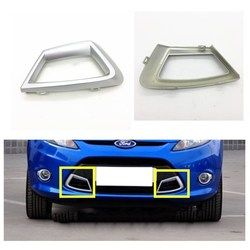 Styling mobil Untuk Ford fiesta 2009-2012 depan chrome ABS auto accssories