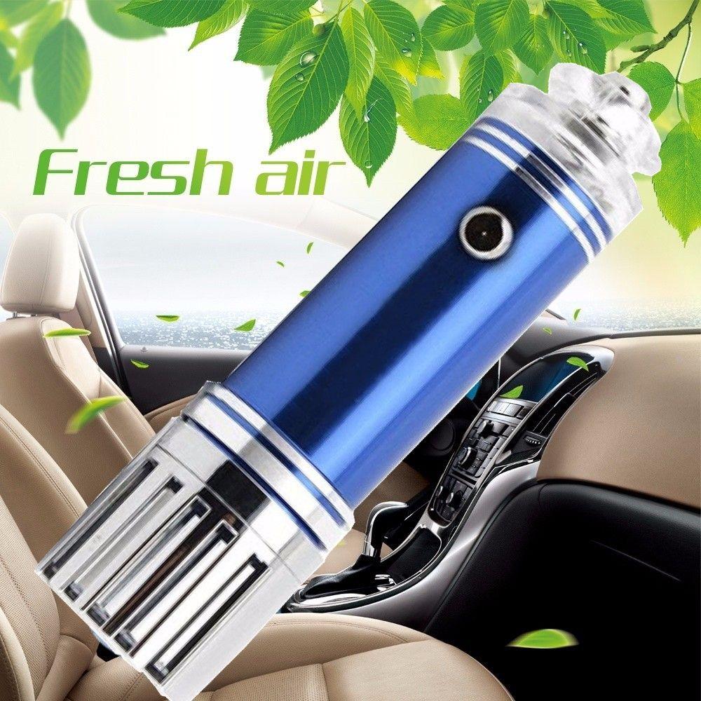 Car-styling WUPP Fresheners Vehicle Air Purifier Mini Auto Car Fresh Air Anion Lonic Purifier Oxygen Bar td1212 shipping