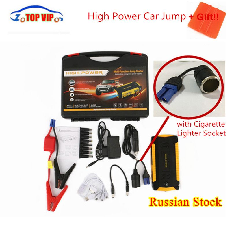 Newest Portable 16000mah Car Jump Starter Power Bank Emergency Auto Battery Booster Vehicle Starter 12V with High Quality