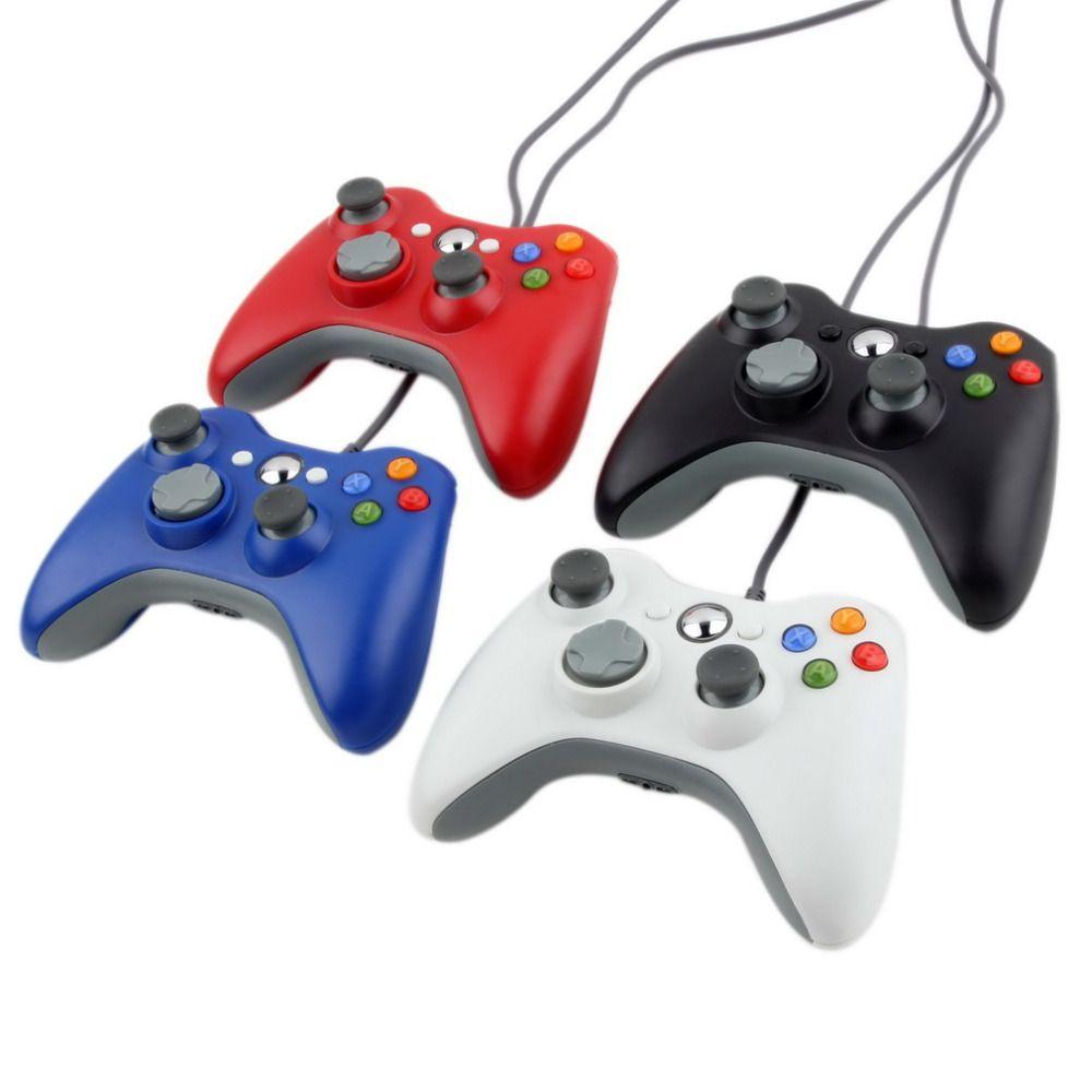 ПК USB проводной Joypad геймпад контроллер для Microsoft для XBOX тонкий 360 для ПК для Windows7 джойстик игровой контроллер