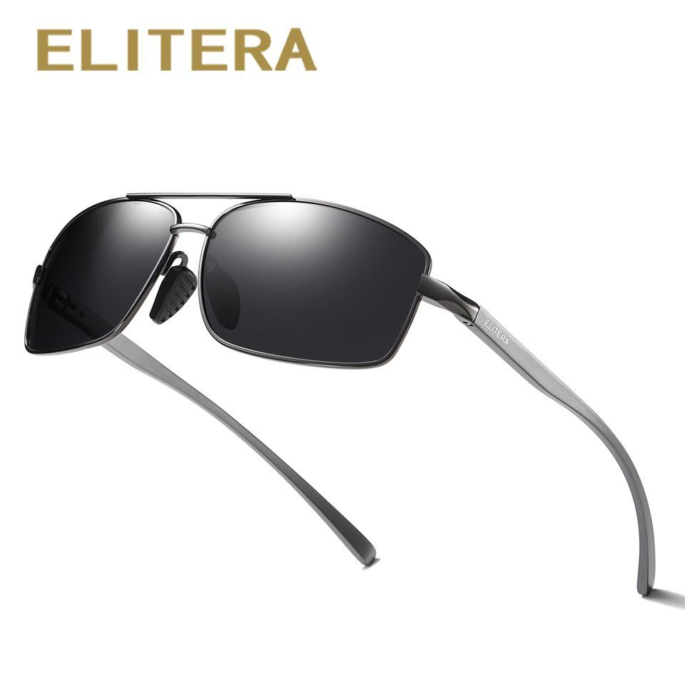 ELITERA aluminium magnésium tout nouveau polarisé hommes lunettes de soleil 3 couleurs lunettes de soleil hommes conduite lunettes accessoires lunettes