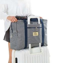 Equipaje de las mujeres Bolsas de viaje mano viaje de gran capacidad del bolso impermeable para hombre cubos de embalaje maleta trolley bolsa de viaje
